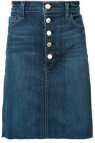 J Brand Roleen denim skirt - women - Cotton/Polyester - 27
