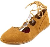 Rocket Dog Malt Women Round Toe Synthetic Brown Flats.