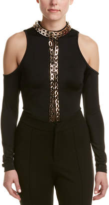 Wow Couture Cold-Shoulder Bodysuit