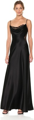 Jill Stuart Jill Women's Slip Dress with Lace Cutouts
