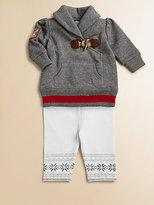 Ralph Lauren Infant's Fleece Sweater & Leggings Set