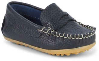 Elephantito Baby Boy's Alex Leather Driving Loafers