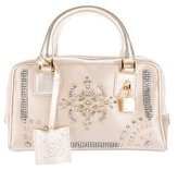 Loewe Embellished Satin Evening Bag