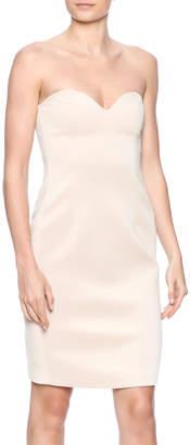 Blaque Label Scuba Strapless Dress