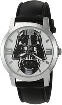 Star Wars Men's Quartz Black Casual Watch (Model: SWCAQ030)