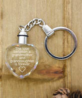 Pink Box Accessories Women's Key Chains Silver - Stainless Steel 'Love Between Grandmother' Light-Up Key Chain