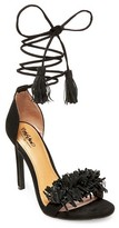Mossimo Women's Irene Ghille Lace Up Pumps Black