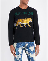 Gucci Blind For Love Wool Jumper