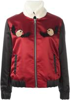 Au Jour Le Jour embroidered detail bomber jacket