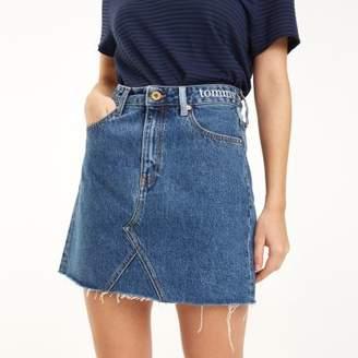 Tommy Hilfiger Mixed Denim Mini Skirt