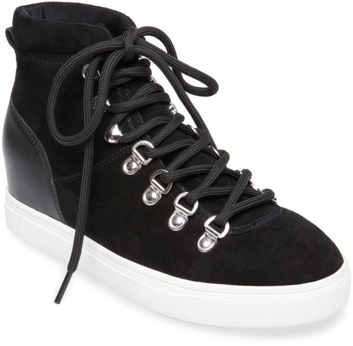 9bd12e6c099 Kalea Suede High-Top Wedge Sneakers