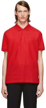 Burberry Red Eddie Polo