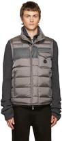 Moncler Grey Down Athos Vest