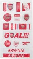 Arsenal F.C. Arsenal FC Official Fun Bubble Football Crest Sticker Set