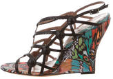 Tabitha Simmons Issa Cage Wedges