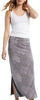 White Stuff Tumble Jersey Maxi Skirt, Dove Grey