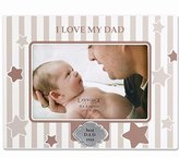 Lawrence Frames 430146 I Love My Dad Horizontal Picture Frame, 4 by 6-Inch