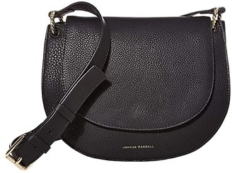 Loeffler Randall Cecil Leather Saddle Bag