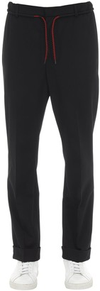 McQ Tailored Wool Blend Jogging Pants