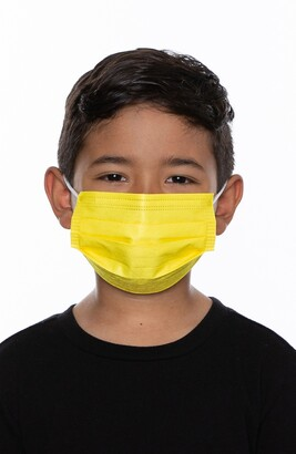 Medipop 5-Pack Kids' Disposable Pleated Face Masks