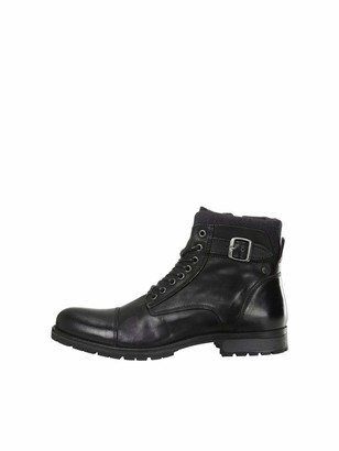 Jack and Jones Men's JFWALBANY Leather STS Chukka Boots