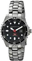 Momentum Women's 1M-DV45B0 Torpedo Pro Analog Display Japanese Quartz Silver Watch
