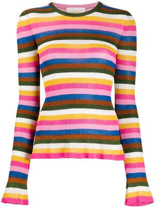 La DoubleJ Striped Jumper