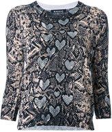 Markus Lupfer snakeskin print blouse