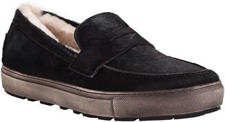 Ross & Snow Matteo Genuine Shearling Loafer Sneaker