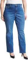 NYDJ Plus Marilyn Straight-Leg Jeans, Blue, Plus Size