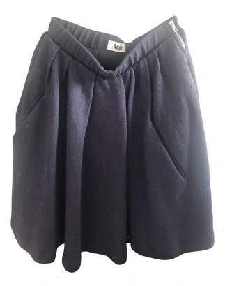 Acne Studios Blue Wool Skirts