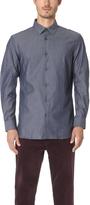 Club Monaco Dress Chambray Shirt