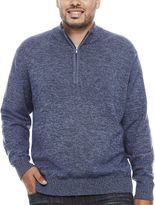Izod Quarter-Zip Pullover Big and Tall