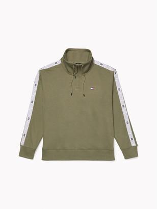 Tommy Hilfiger Funnel Neck Popover Sweatshirt