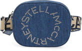 Stella McCartney Eco Studded Logo Organic Denim Belt Bag