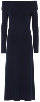 Gabriela Hearst Exclusive to Mytheresa a Judy wool-blend dress