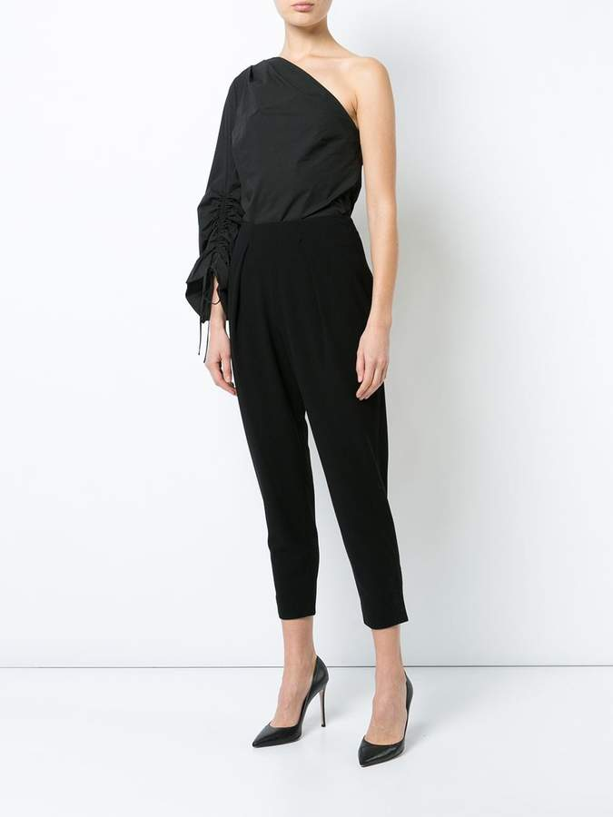 Natori one shoulder blouse