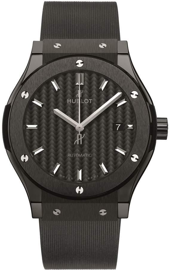Hublot Classic Fusion 42mm Black Magic Ceramic Watch