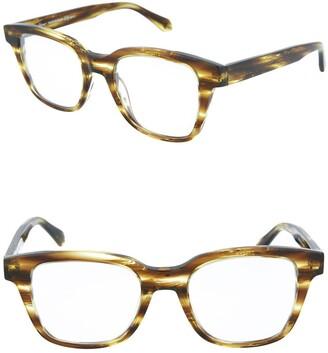 Brioni Core 49mm Square Optical Sunglasses