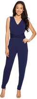 MICHAEL Michael Kors Sleeveless Waist Twist Jumpsuit Women's Jumpsuit & Rompers One Piece
