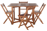 Safavieh Lynda Table and Chairs Set (5 PC)