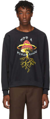 Gucci Black Mushroom Sweatshirt