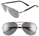 Revo 'Raconteur' 58mm Polarized Aviator Sunglasses