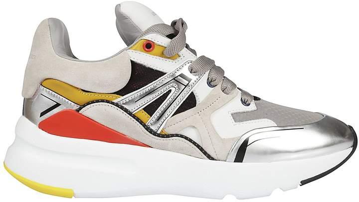 Alexander McQueen Chunky Sole Running Sneakers