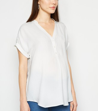 New Look Maternity Button Overhead Shirt