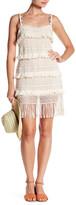 Nicole Miller Crochet Fringe Dress