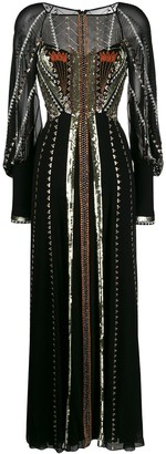 Temperley London Embellished Maxi Dress