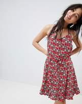 Oasis Tropical Print Beach Dress