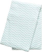 TREND LAB, LLC Trend Lab Mint Chevron Deluxe Swaddle Blanket