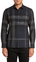 Burberry 'Harracott' Trim Fit Print Check Sport Shirt
